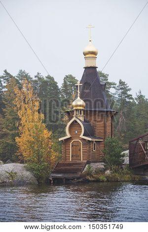 Orthodox Church of St. Andrew on the Vuoksa river