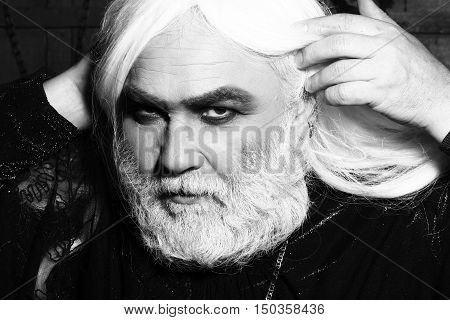 Man In White Wig