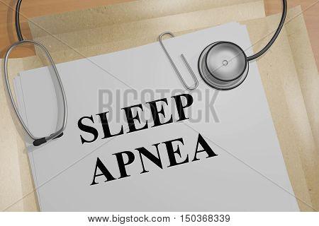 Sleep Apnea - Medical Concept