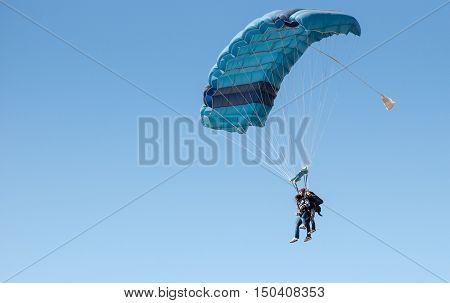 Pair Parachute Jumping