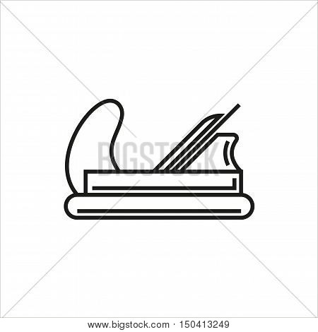 Plane icon on white background Created For Mobile Web Decor Print Products Applications. Icon isolated. Vector illustration.
