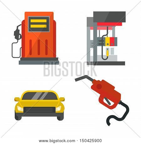 Petroleum technology refinery factory gas oil station business transportation.