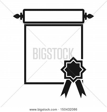 Charter icon of vector illustration for web and mobile design
