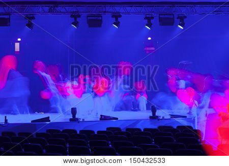 Light In The Theater, A Concert.