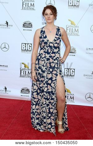 LOS ANGELES - OCT 1:  Dana Brawer at the Catalina Film Festival - Saturday at the Casino on October 1, 2016 in Avalon, Catalina Island, CA