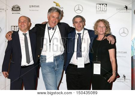 LOS ANGELES - OCT 1:  Alan Watt, David Streit, Alex Streit, Guest at the Catalina Film Festival - Saturday at the Casino on October 1, 2016 in Avalon, Catalina Island, CA