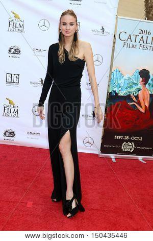LOS ANGELES - OCT 1:  Brianna Barnes at the Catalina Film Festival - Saturday at the Casino on October 1, 2016 in Avalon, Catalina Island, CA