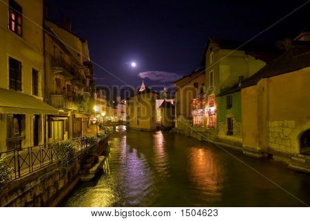Small French Town Annecy