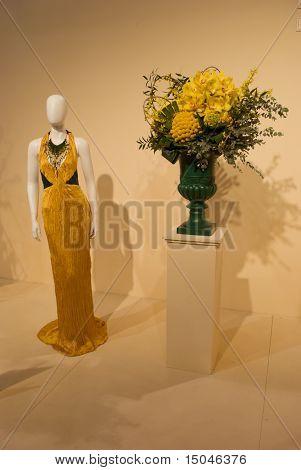 Dresses and Arrangements Flower Show