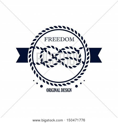 Vintage nautical labels. Banner sea emblem ship old ocean graphic nautical labels vector illustration with transparent. Insignia wheel nautical sign boat isolated traditional nautical labels.