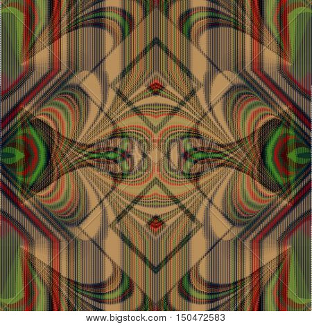 Abstract image,tapestry can be used as a template for tissue