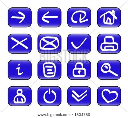 Miscellaneous Web Icons