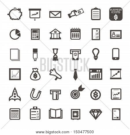 Vector illustration of thin line icons for business banking contact social media technology seo logistic education sport medicine travel weather construction arrow fruit Linear symbols set.