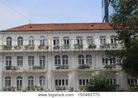 Detail Of Apartment Building Achitecture