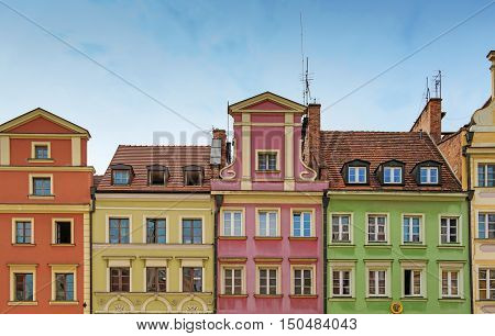 Market Square Tenements, Wroclaw Poland