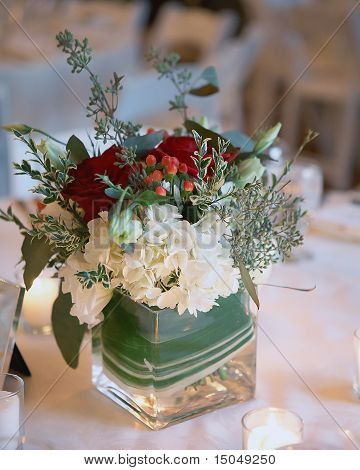 Christmas wedding flowers