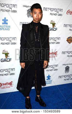 LOS ANGELES - OCT 1:  Tommy Lei at the Metropolitan Fashion Week Closing Gala and Awards Show at the Warner Brothers Studios on October 1, 2016 in Burbank, CA