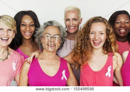 Breast Cancer Cells Tumor Female Women Concept