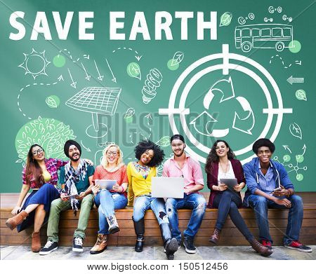 Ecology Friendly Energy Environment Sustainable Concept