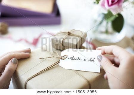 Gift Presents Occasions Surprise Concept