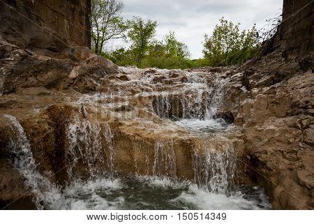 Mirna River In Kotli, Istra, Croatia