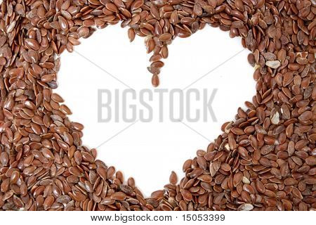 Delicious and healthy flax seeds