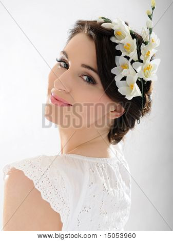 Beautiful Fresh Spring Woman