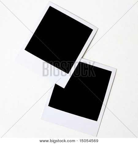 Photos isolated on a white background