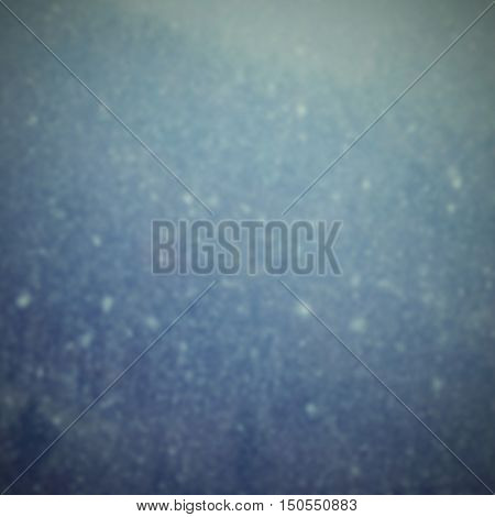 Snowfall. Beautiful Winter Background Seasonal Nature And The Weather In Winter. Winter Landscape Wi