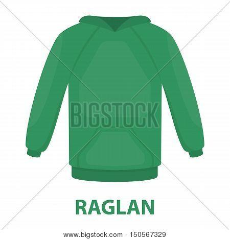 Raglan icon of rastr illustration for web and mobile design