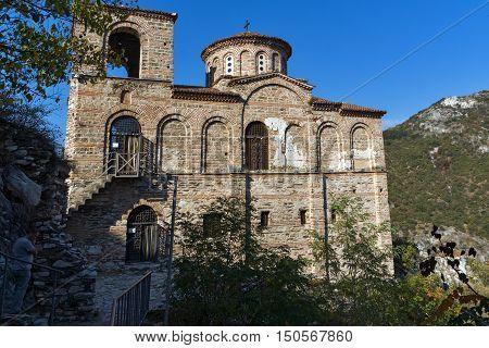 Church of the Holy Mother of God in Asen's Fortress, Asenovgrad, Plovdiv Region, Bulgaria