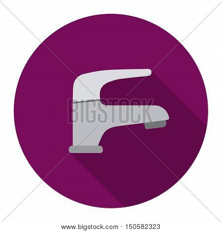 Faucet icon of raster illustration for web and mobile design