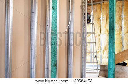 Installation Of Drywall Constructions With Metal Profiles