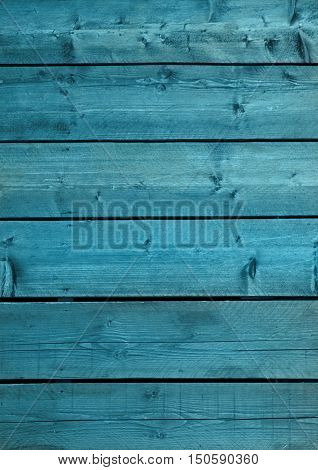 Blue wooden backdrop texture old and grunge natural wood