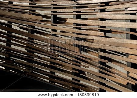 Abstract Wooden Pattern Background