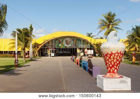 Art And Cultural Center J Inacio On Beach Atalaia, Aracaju, Sergipe State, Brazil