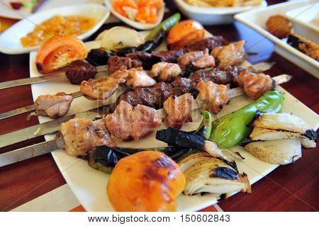 Oriental Food - Shish Kebab