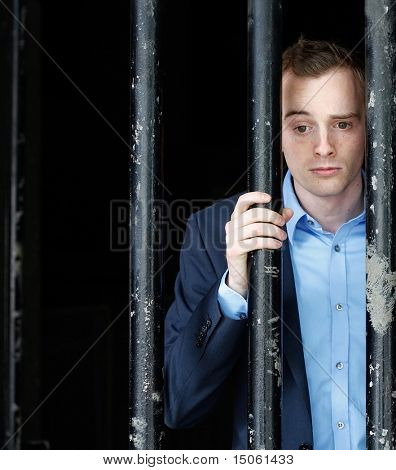 Businessman in jail