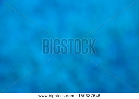 Abstract background blue bokeh circles. Beautiful background with particles