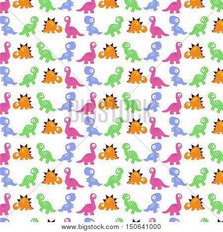 background with cute dinosaurs. template for cards invitations party banners kindergarten baby shower preschool and children room decoration