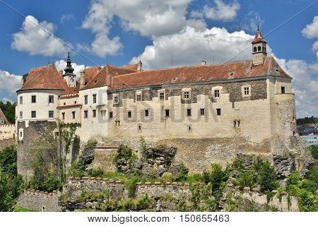 Castle Raabs in Lower Austria in summer