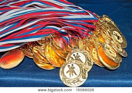 Many Gold Medals