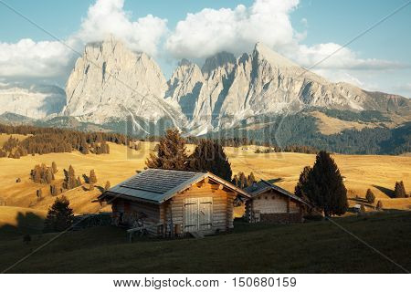 Alpe di Siusi, Dolomites, Italy