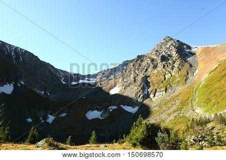 mountains, mountain, countryside, mountain, mountain landscape, mountain landscape, nature, Kazakhstan, summer, ridges, proteins,Ivanovskiy ridge, p. Voroshilov, spades