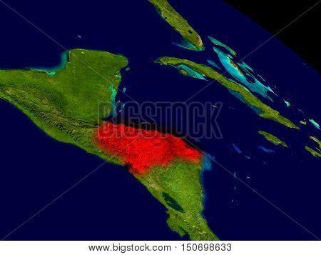 Honduras From Space