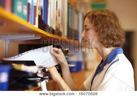 Pharmacist Looking For Files