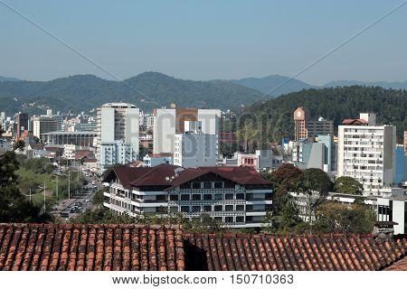 Blumenau - Santa Catarina - Brasil - Vista da Cidade