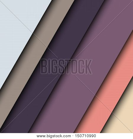 Colorful background with slanted striped. Vector illustration.