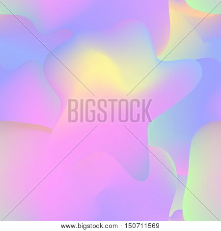 Fluid colorful seamless pattern. Vector design for wallpaper, textile, prints