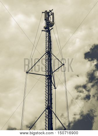 Vintage Looking Communication Tower